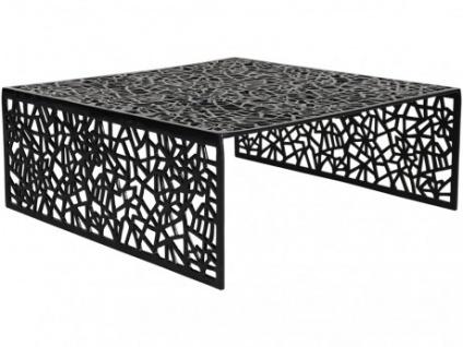 Couchtisch Design Inside Art Aluminium SPLENDEUR - Schwarz