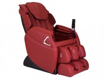 Massagesessel LETO - Zero Gravity Technik - Rot