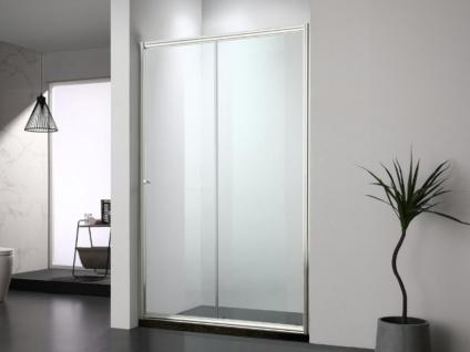Duschtrennwand Seitenwand Schiebetür Jessica II - 120x190 cm