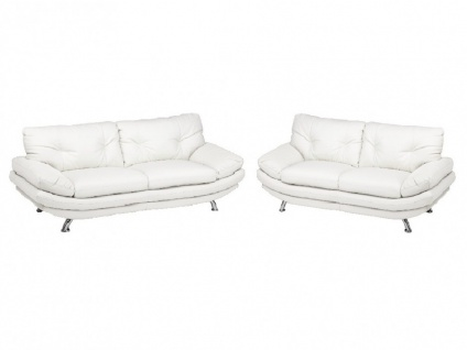 2-Sitzer-Sofa Forrest - Weiß - Vorschau 4