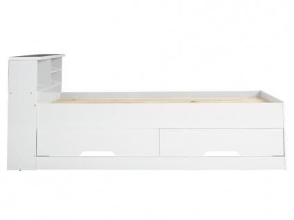 Bett mit Bettkasten BORIS + Lattenrost - 90x190cm - Vorschau 4