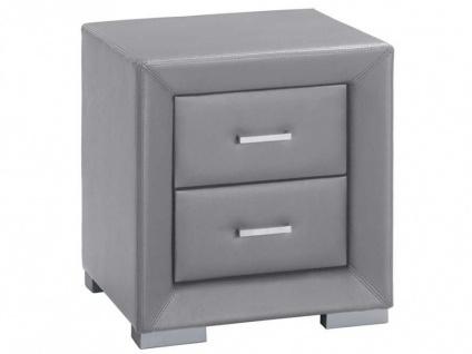 Nachttisch Capitole - 2 Schubladen - Grau