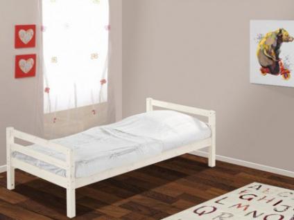 Kinderbett Massivholz FINN + Lattenrost - 90x190cm