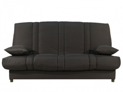schlafsofa klappsofa mit bettkasten farwest grau. Black Bedroom Furniture Sets. Home Design Ideas