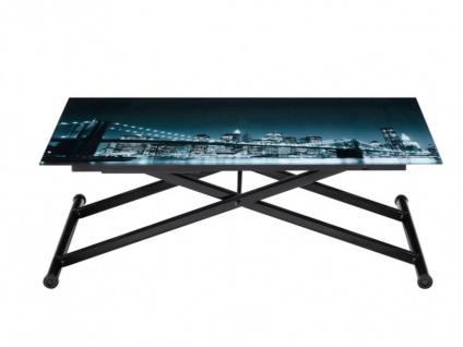 Tisch Glas Midnight - Höhenverstellbar - Vorschau 5