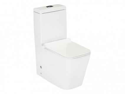 Stand-WC mit flachem Deckel HISOKA