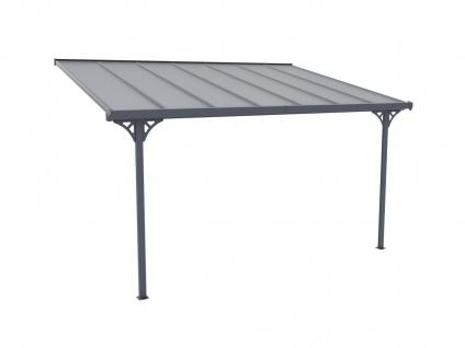 Terrassendach anlehnend ALVARO - Aluminium - 13, 2 m² - Vorschau 4