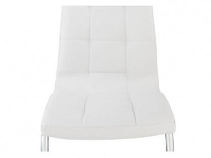 Stuhl 6er-set Nadya - Weiß - Vorschau 5