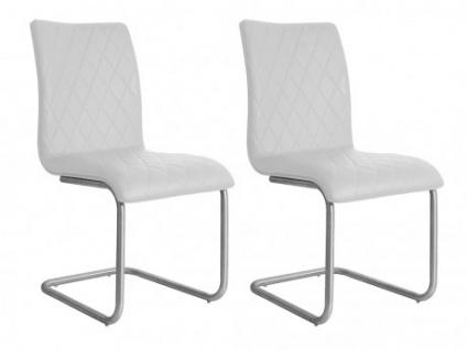 Stuhl 2er-Set WESTON - Weiß