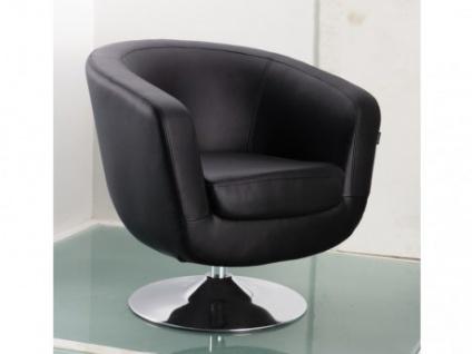 Lounge-Sessel Bowling - Schwarz