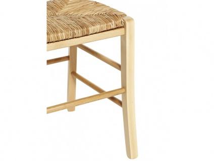 Stuhl 6er-Set Holz massiv PAYSANNE - Natur - Vorschau 5