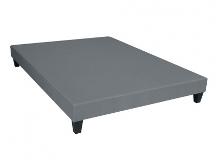 Bettgestell mit Lattenrost Dream - Grau - 140x190cm