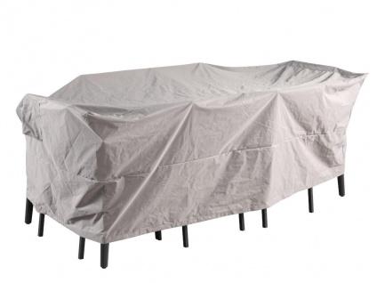 Schutzhülle wasserdicht für Gartenmöbel CAMOGLI - B185 x T130 x H80 cm - Hellgrau