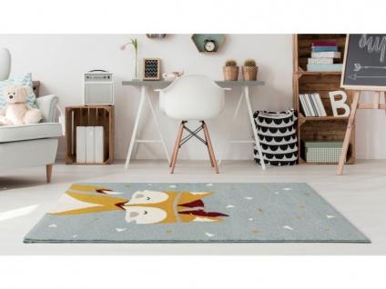 Kinderteppich JUNIO - Polypropylen - 100 x 150 cm - Mehrfarbig