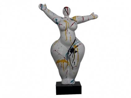 Statue ODINA - 37x54 cm - Weiß