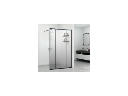 Duschtrennwand Seitenwand italienische Dusche ATALIA - 120x200 cm
