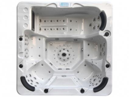LED-Whirlpool Spa Ulysses - 4-6 Plätze - Weiß