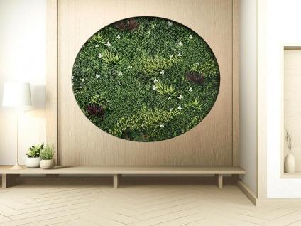 Wandpaneel aus Kunstpflanzen LAHTI - 1 Pack: 1 m²