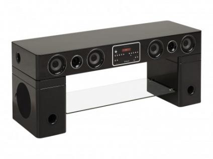 TV-Möbel Soundboard Watts III - Schwarz