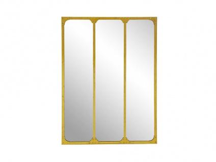 Atelier Glaswand NORWICH - Eisen - 120x90 cm - Goldfarben