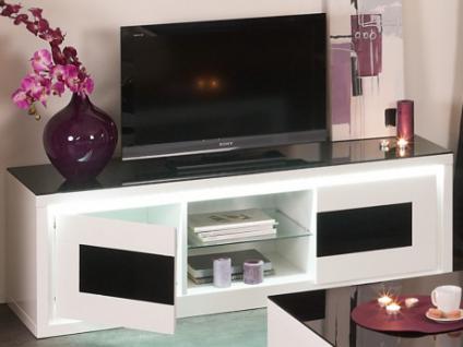 TV-Möbel Glas LED KIBO