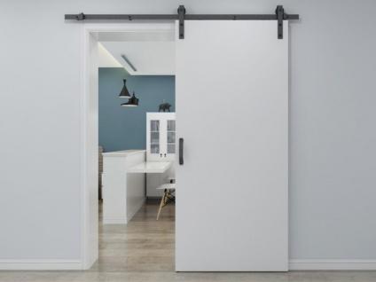Schiebetür VARIN - H 205 x B 93 cm - Holz & PVC