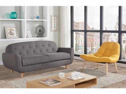 Lounge-Sessel Stoff Kribi - Gelb - Vorschau 4