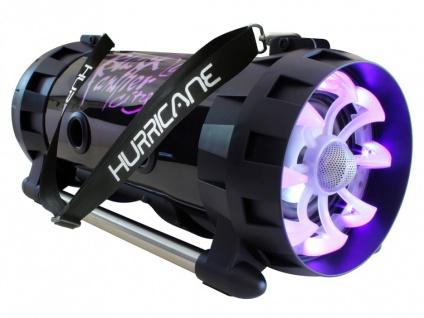 Karaoke Lautsprecher Anlage mobil HURRICAN von BLACK PANTHER - Vorschau 3
