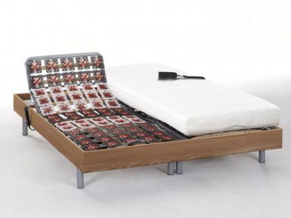 Matratzen elektrischer Lattenrost 2er-Set PERSEE von DREAMEA - Taupe - 2x80x200 - Okin-Motor