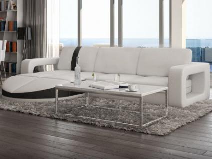 Wohnlandschaft Ecksofa Design Talita - Weiß