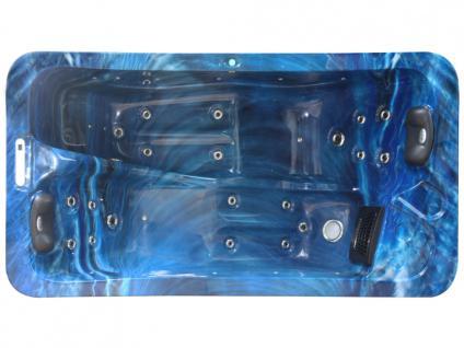 Whirlpool Spa 2 Personen TAHITI - Blau