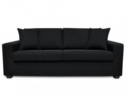 sofa schwarz g nstig sicher kaufen bei yatego. Black Bedroom Furniture Sets. Home Design Ideas