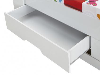 Bett mit Bettkasten BORIS + Lattenrost - 90x190cm - Vorschau 5