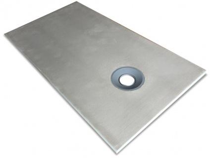 Duschwanne Duschtasse zur Selbstgestaltung DELOS - 1600x900x40mm