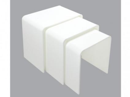 Beistelltische Weiss design beistelltisch weiss kaufen bei yatego