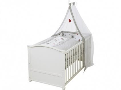 Babybett Kinderbett Fanny - Weiß - Vorschau 3