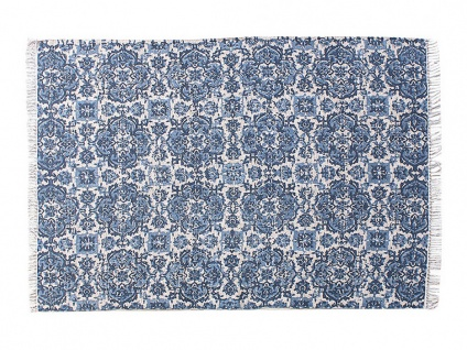 Teppich handgewebt Jute & Baumwolle HORTENSIA - 160x230cm