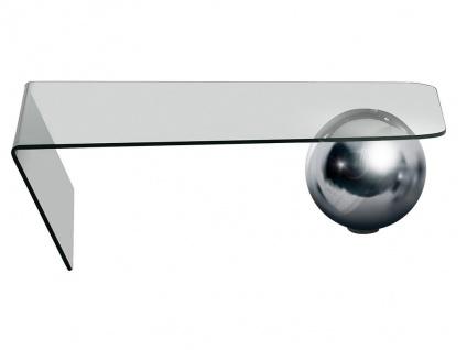 Couchtisch Glas Stahl Mundo - Vorschau 5