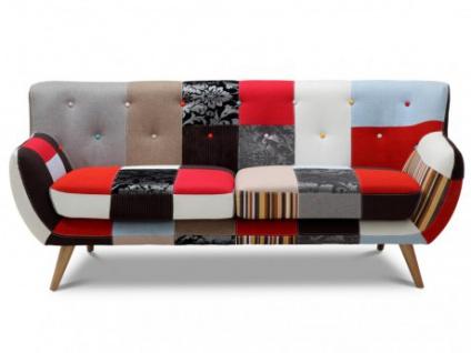 3-Sitzer-Sofa Stoff Serti - Patchwork