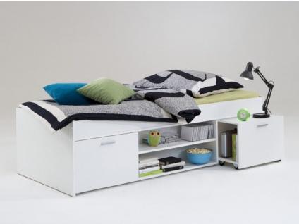 Kinderbett mit Stauraum ALORA - 90x200cm