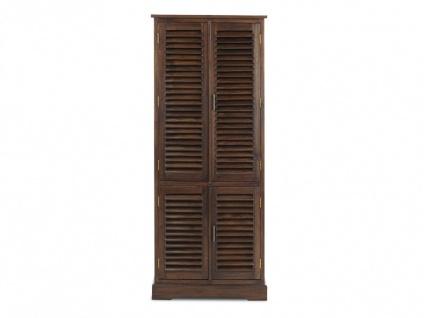 Kleiderschrank Massivholz Bali II - 4 Türen - Vorschau 4