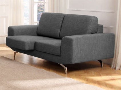2-Sitzer-Sofa Stoff ALBURY