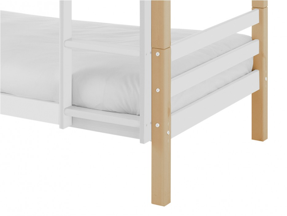 Etagenbett Lattenrost : Kinderbett etagenbett mati mit lattenrost matratzen jugendbett