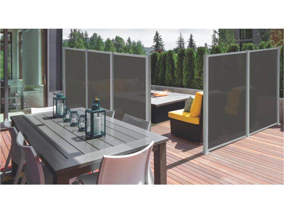 Sichtschutz Aluminium Osaco 130x170cm Kaufen Bei Kauf Unique De