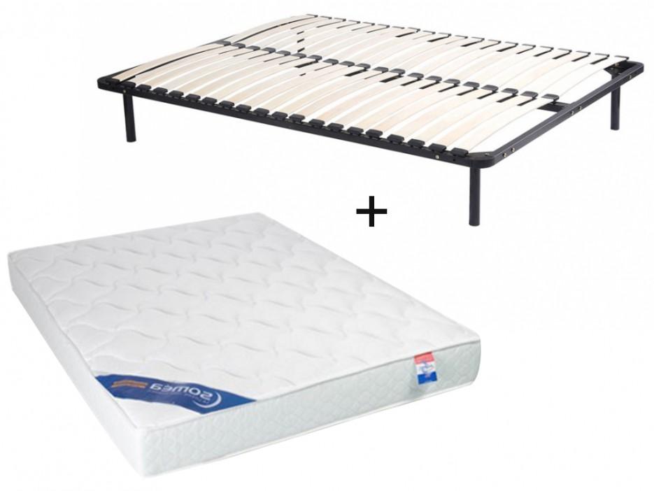 matratzen lattenrost set mit f en zeus 90x190cm kaufen bei kauf. Black Bedroom Furniture Sets. Home Design Ideas