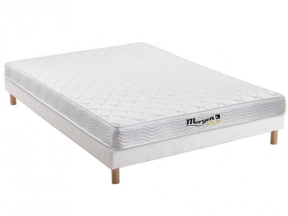 visco bonnell federkernmatratze lattenrost set wolkenlos 140x200cm kaufen bei kauf. Black Bedroom Furniture Sets. Home Design Ideas