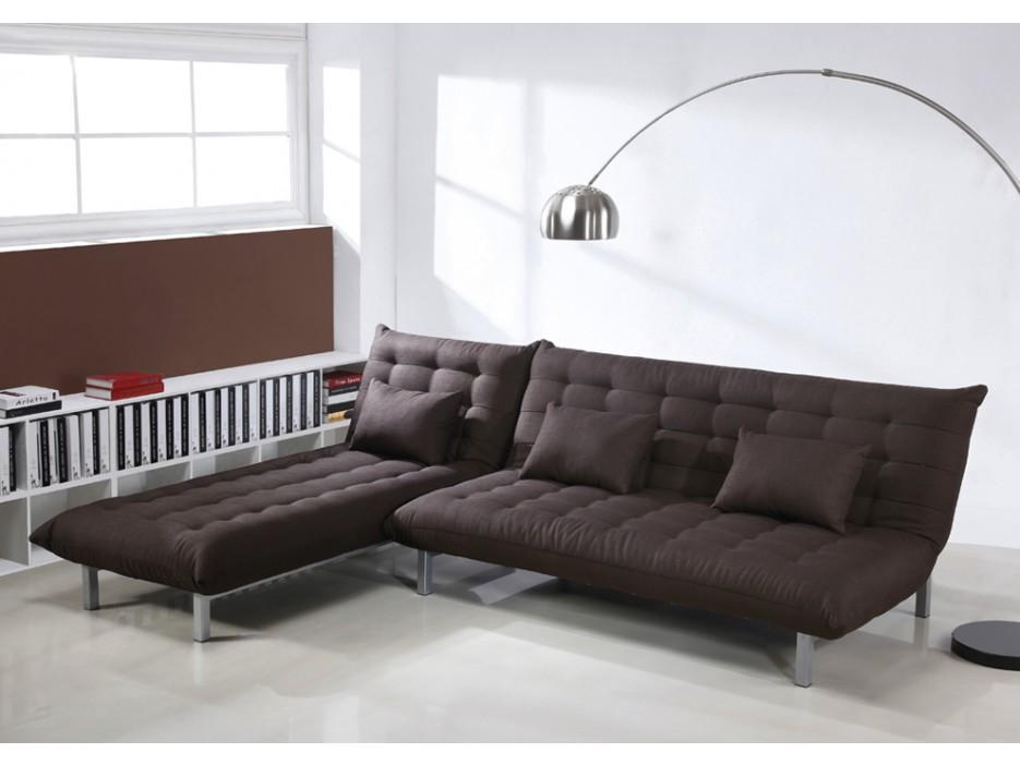 3 sitzer schlafsofa stoff hornet braun kaufen bei kauf. Black Bedroom Furniture Sets. Home Design Ideas