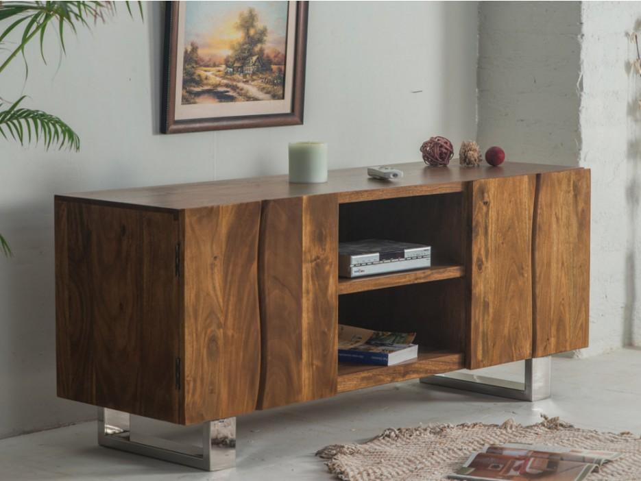Tv möbel holz massiv  Tv-möbel Holz Massiv Tusty - Kaufen bei Kauf-Unique.de
