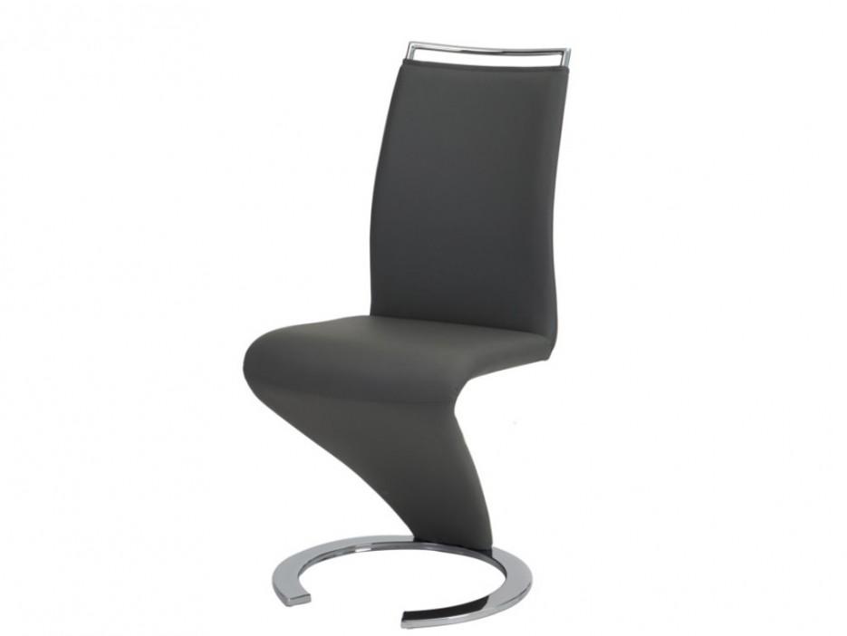 Stuhl freischwinger 4er set twizy schwarz kaufen bei for Stuhl abc design