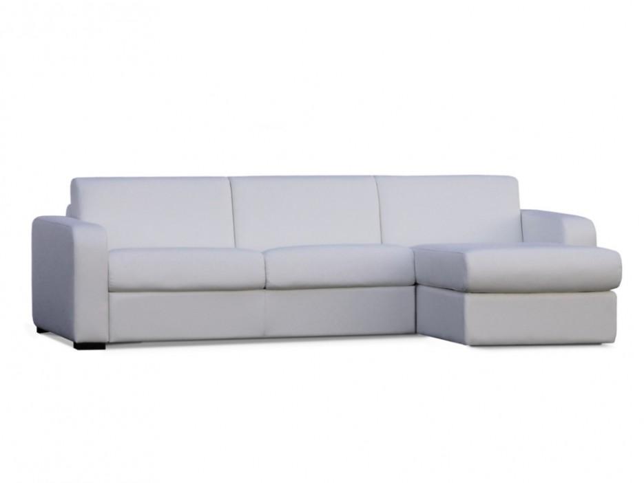 schlafsofa ecksofa express bettfunktion mit matratze flavien wei kaufen bei kauf. Black Bedroom Furniture Sets. Home Design Ideas